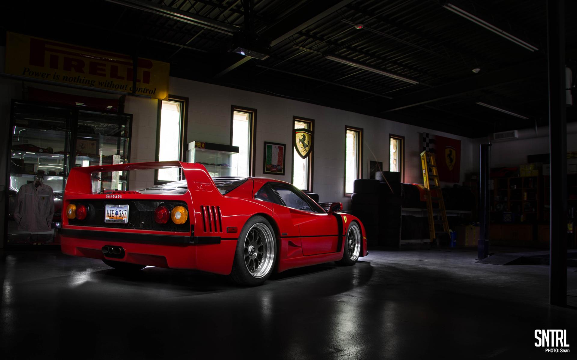 Wallpaper Wednesday Julie\u0027s Ferrari F40